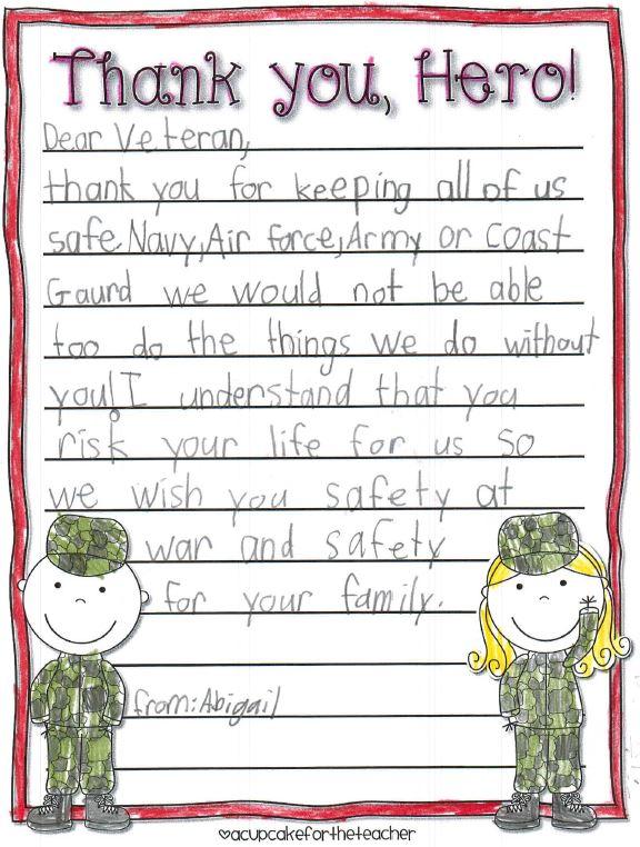 3rd grade letter